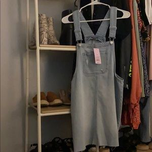 Overalls wild fable size M light denim wash